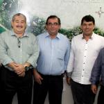 Walker Carvalho visita presidente da Fecomércio