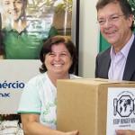 Crianças são beneficiadas com doação de refeição fortificada