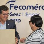 Mesa Brasil entrega 16 toneladas de alimentos em Sergipe