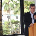 Laércio Oliveira interage com contadores em evento do CRC