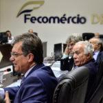 Laércio Oliveira faz palestra sobre atuação legislativa para Fecomércio/DF