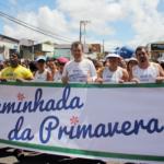 Três mil comerciários participam da caminhada da Primavera