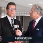 Laércio Oliveira, entrevistado no Radar Television