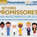 Segmentos promissores para investimentos em 2018