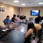 Estudantes de Turismo visitam Fecomércio para conhecer economia do turismo