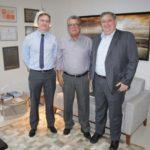 Superintendente do BB visita presidente da Fecomércio, para mostrar linhas de crédito exclusivas para empresários