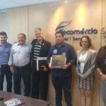 Milton Andrade apresenta propostas de governo para a Fecomércio