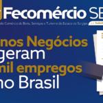 Pequenos Negócios Geram 395 mil Empregos no Brasil