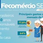 43% dos brasileiros acima de 60 anos são os principais responsáveis pelo pagamento de contas e despesas da casa