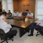 Laércio discute com empresários problemas da construção civil