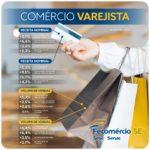 Sergipe apresenta crescimento nas vendas do comércio em novembro