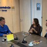 Ministério Público e Sistema Fecomércio farão parceria para atender mulheres vítimas de violência