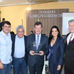 Laércio recebe homenagem em Estância pelo no estímulo ao empreendedorismo