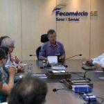 Empresários discutem situação de postos de combustíveis com agentes públicos