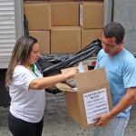 Presidente da Fecomércio entrega 7 toneladas de refeição fortificada
