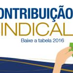 Contribuição Sindical 2016