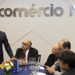 Laércio fala sobre Código Comercial em visita à Fecomercio-MG