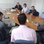 Presidente do SergipeTec recebe equipe da Câmara de TI da Fecomércio/SE