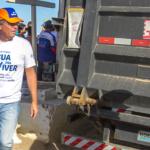 Fecomércio leva doações de água para o sertão sergipano