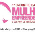 1º Encontro da Mulher Empreendedora e Gestora de Negócios de Sergipe