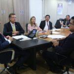 Fecomércio e Sicofase se reúnem com Ministro da Saúde