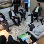 Fecomércio se reúne com representantes da Câmara de Comércio e Indústria Brasil-China