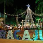 Natal Iluminado é aprovado por 95% dos comerciantes do Centro de Aracaju