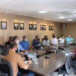 Empresários discutem ações preventivas no Centro Comercial com Bombeiros